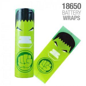 Wrap Acumulator 18650 - HULK