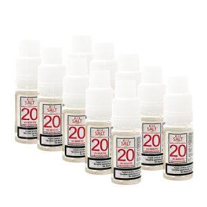 Pachet NicSalt Shot Nicotina 10 X 10ml - 20mg/ml - 50VG/50PG