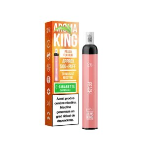 Tigara Electronica Puff Bar Aroma King - Peach Ice
